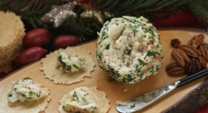 cheese chick's holiday cheeseball