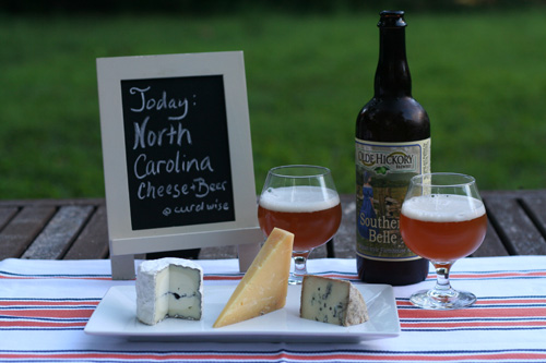 north carolina cheese and beer pairing