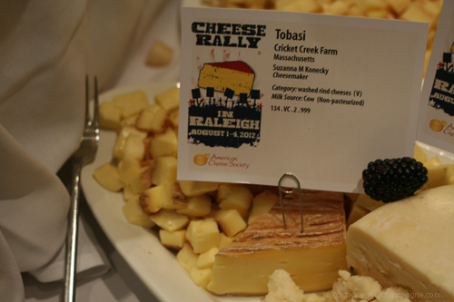 Cricket Creek Tobasi cheese
