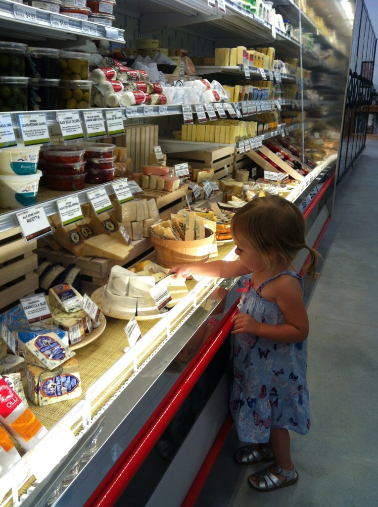 cheese case at MOM's merrifield