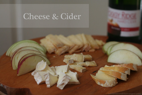 Cheese and Cider Pairings