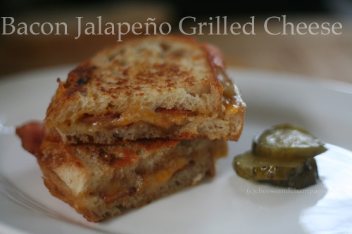 bacon jalapeno grilled cheese recipe