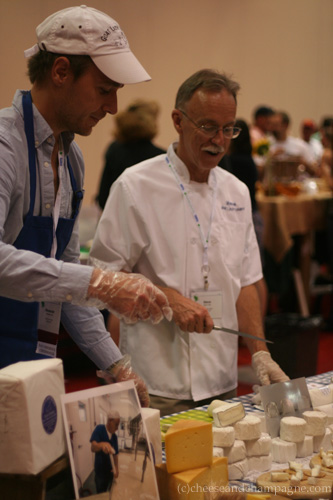 Alexander Kast, Steve Tate of Goat Lady Dairy | cheeseandchampagne.com