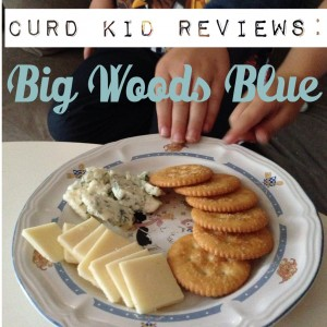 Curd Kid Reviews Big Woods Blue | cheeseandchampagne.com