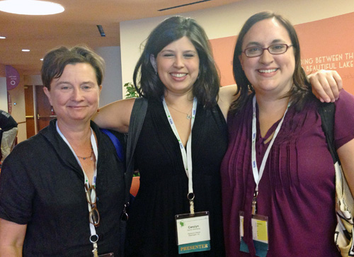 Gail Hobbs-Page, Carolyn Stromberg, Colleen Levine at ACS2013