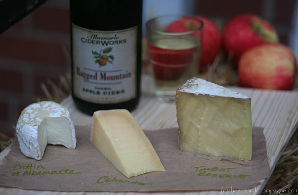 cheese and virginia cider pairings | cheeseandchampagne.com