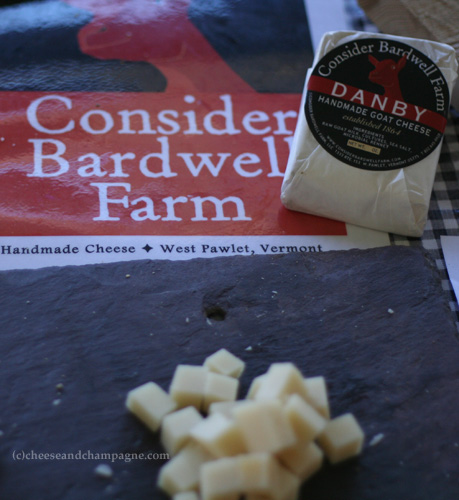 Consider Bardwell Danby cheese | cheeseandchampagne.com
