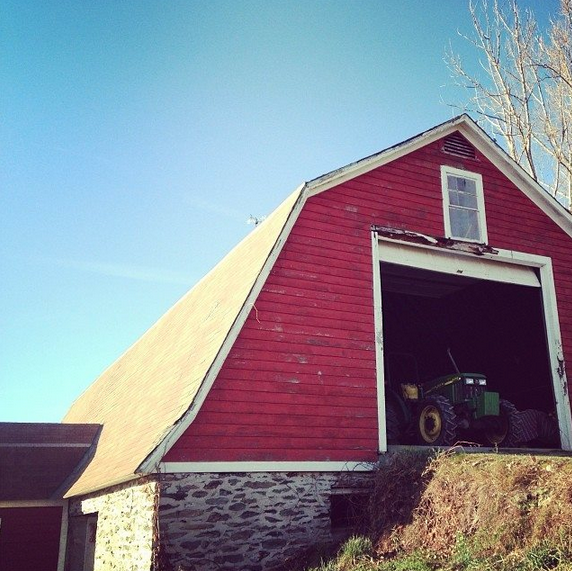 Cricket Creek Farm Stone Barn