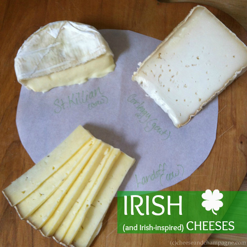 St. Killian and Corleggy | Irish Cheese | CheeseandChampagne.com