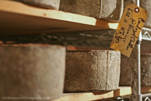 cheese aging on wood | cheeseandchampagne.com