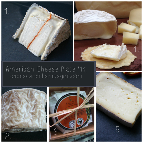American Cheese Plate 2014 | CheeseandChampagne.com