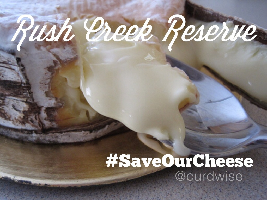 Rush Creek Reserve #SaveOurCheese | cheeseandchampagne.com