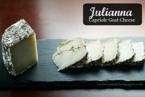 Julianna cheese | cheeseandchampagne.com