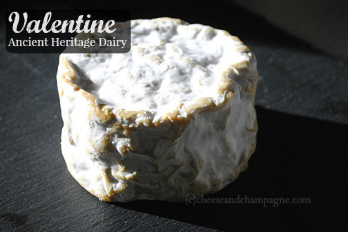Valentine cheese | Ancient Heritage Dairy | cheeseandchampagne.com