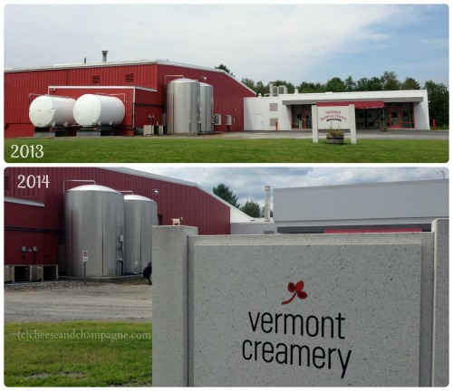 Vermont Creamery expansion | cheeseandchampagne.com