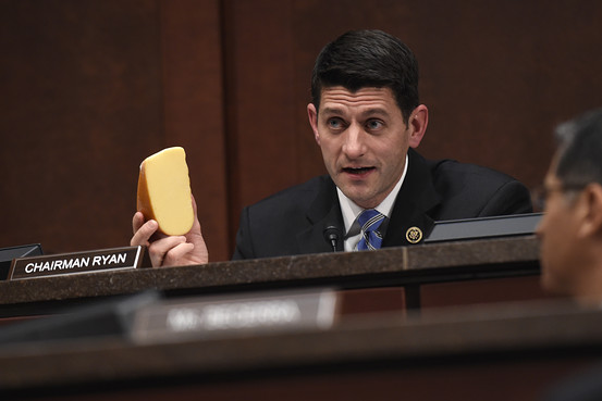paul ryan holding cheese