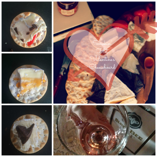 perfect pairings for valentiness day | cheeseandchampagne.com