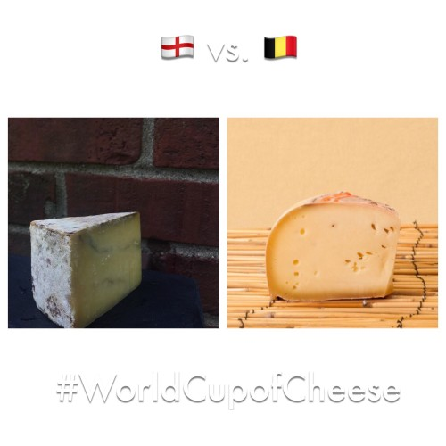 World Cup of Cheese: England v. Belgium