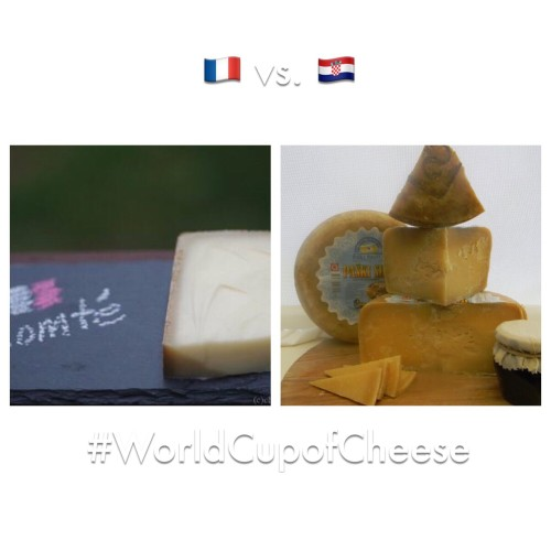 World Cup of Cheese | France v Croatia